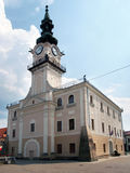Historical Town Hall in Kezmarok Stock Photography