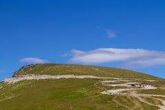 Summer view of Transalpina mountain road. Romania stock image