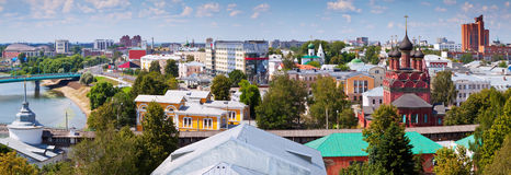Summer view Yaroslavl. Russia Stock Images