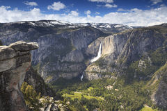Summer view of Yosemite Valley Royalty Free Stock Photo