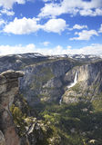 Summer view of Yosemite Valley Royalty Free Stock Image