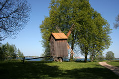Summer in a village. A museum open-air in Estonia, Tallinn Stock Image