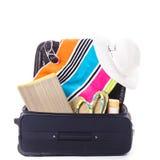 Summer vocation bag Stock Images