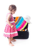 Summer voyage with children Royalty Free Stock Photography