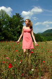 Summer Walk In Nature Royalty Free Stock Photography