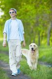 Summer walk Royalty Free Stock Photos