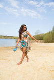 Summer walk Royalty Free Stock Image