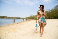Summer walk Royalty Free Stock Photo
