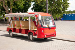 Summer walking bus Stock Image