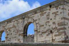 Naval Dockyard fortress Bermuda  Royalty Free Stock Images