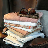 Summer wardrobe Stock Image