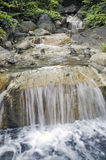 Summer water cascade Stock Images