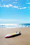 Summer Water Sports. Surfing. Surf Board, Surfboard On Sand. Royalty Free Stock Photo