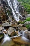 Summer waterfall Stock Photo