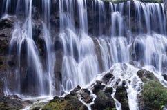 Summer waterfalls of JiuZhaiGou Royalty Free Stock Image