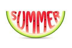 Summer Watermelon Royalty Free Stock Images