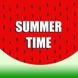 Summer watermelon background design 00 royalty free stock photography