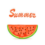 Summer and watermelon Stock Photo