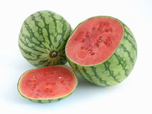Summer Watermelons Royalty Free Stock Photos