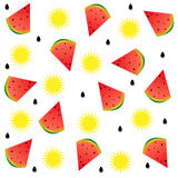 Summer watermelons Royalty Free Stock Photo