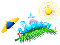 Summer weather Royalty Free Stock Photos