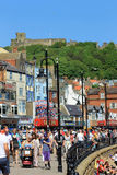 Summer weather in Scarborough Royalty Free Stock Photos