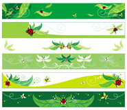 Summer web banners Stock Image