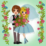 Summer wedding Royalty Free Stock Images
