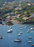 Summer week-end in Ischia island. Beautiful summer view of island of Ischia, south of Italy Stock Photos