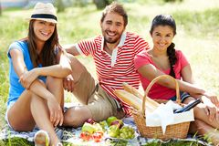 Summer weekend Stock Images