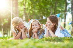 Summer weekend royalty free stock photography