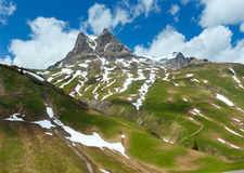Alpine view (Vorarlberg,Austria) Royalty Free Stock Photos