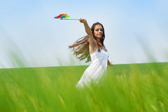 Summer wind Royalty Free Stock Photo