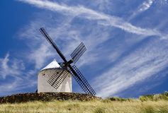 Summer Windmill royalty free stock image