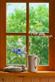 Summer window Stock Photography