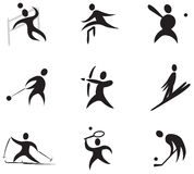 Sport Icons Set Number 3 Royalty Free Stock Image