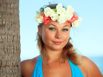 Summer woman Royalty Free Stock Images