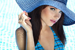 Summer woman Stock Photo