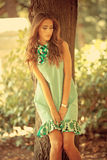 Summer woman Royalty Free Stock Photo