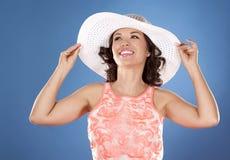 Summer woman Stock Photos