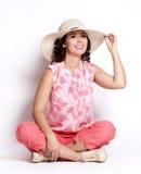 Summer woman Royalty Free Stock Image