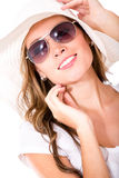 Summer woman portrait Stock Images