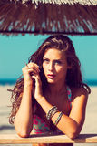 Summer woman Royalty Free Stock Photography