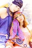 Summer women Royalty Free Stock Photos