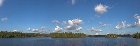 Summer wood lake Royalty Free Stock Photo