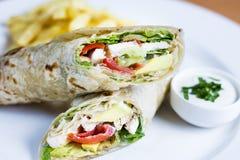 Summer Wrap Salad Royalty Free Stock Photo