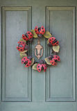 Summer Wreath Stock Photography