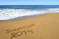 Summer 2014 Royalty Free Stock Images