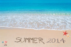 Summer 2014 Stock Photo