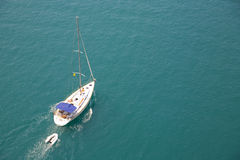 Summer yachting Stock Images